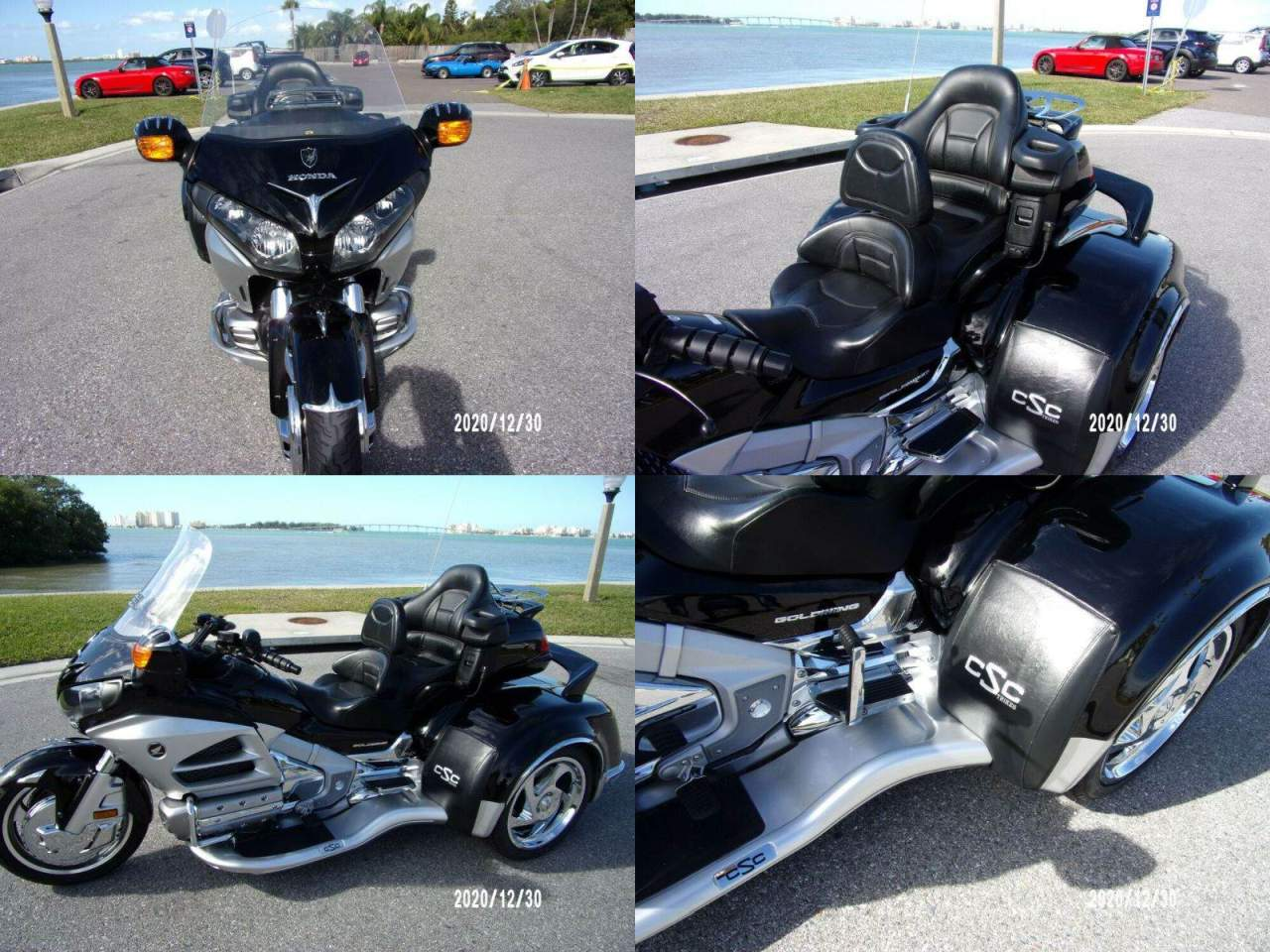 2012 Honda Gold Wing Black/Silver used for sale
