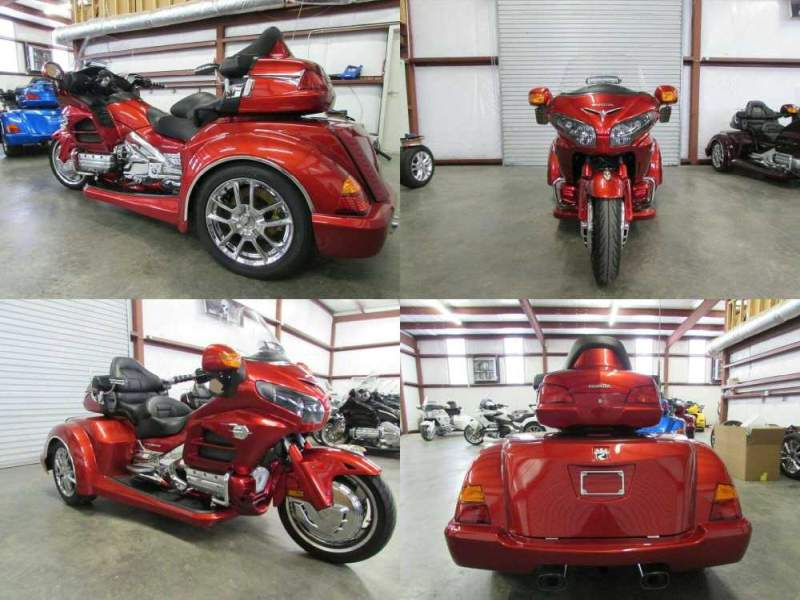 2012 Honda Gold Wing RED used for sale near me