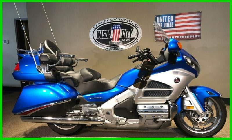 2012 Honda Gold Wing Audio / Comfort Blue used for sale