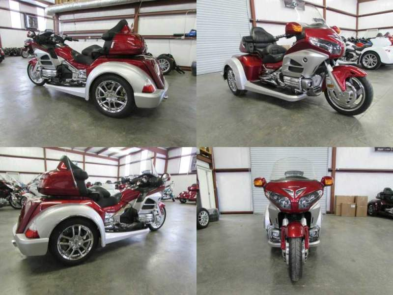 2012 Honda Gold Wing RED AND SILVER used for sale craigslist