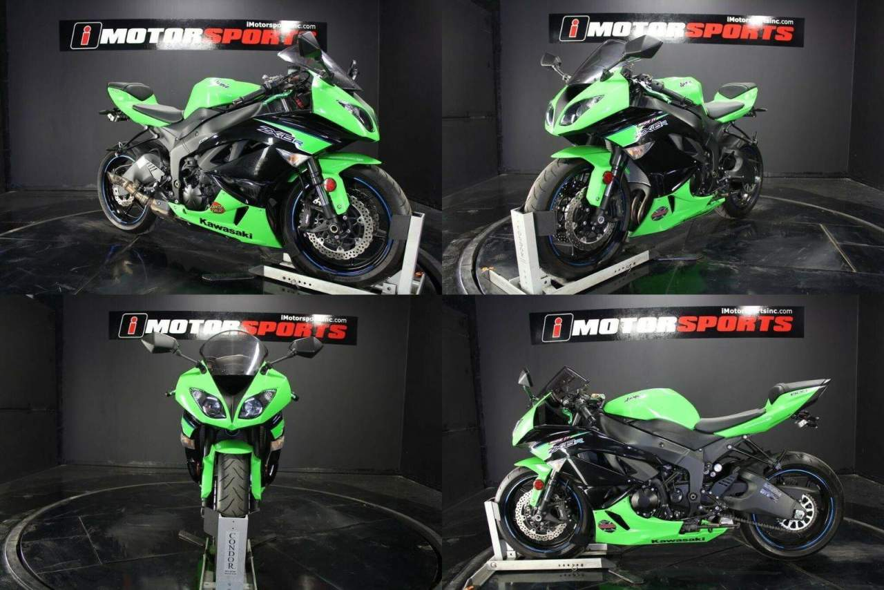 2012 Kawasaki Ninja ZX -6R Green used for sale near me