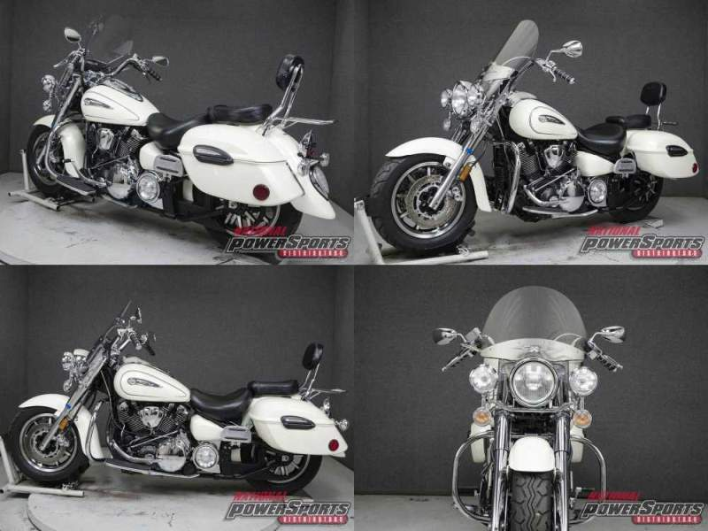 2012 Yamaha Road Star White used for sale