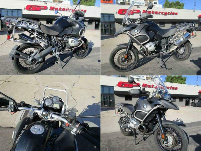 2013 BMW R1200GS Adventure Black used for sale near me
