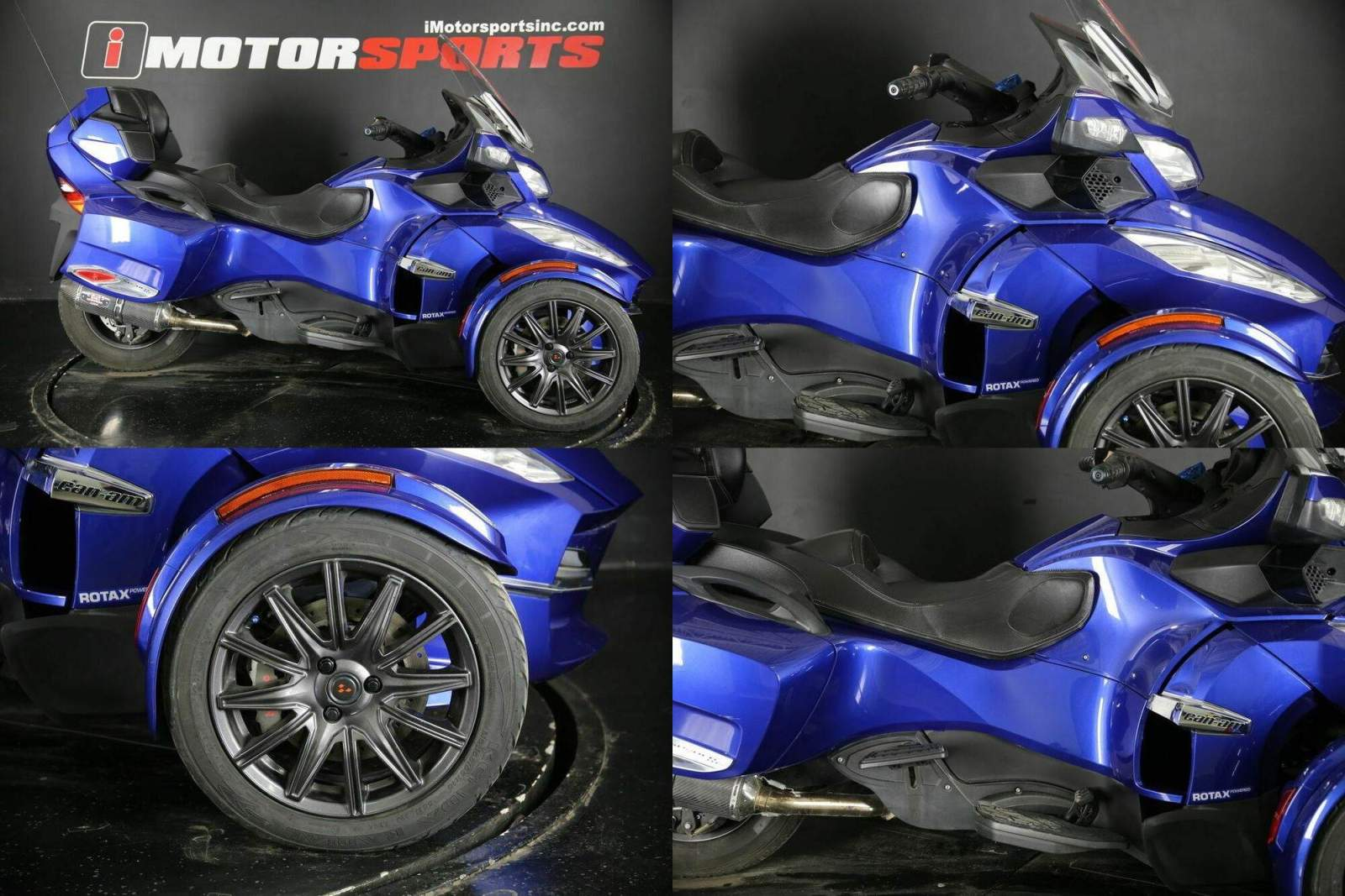 2013 Can-Am Spyder RT-S SE5 Blue used for sale craigslist