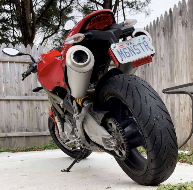 2013 Ducati Monster 696 Red used for sale