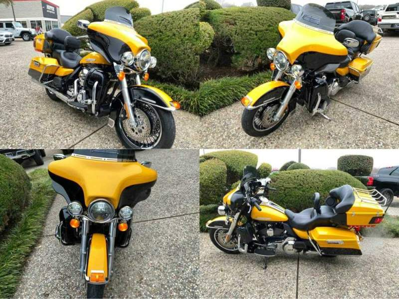 2013 Harley-Davidson Electra Glide Ultra Limited FLHTK Yellow used for sale near me