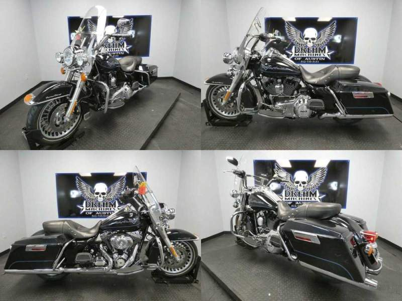 2013 Harley-Davidson FLHR - Road King Midnight Pearl used for sale
