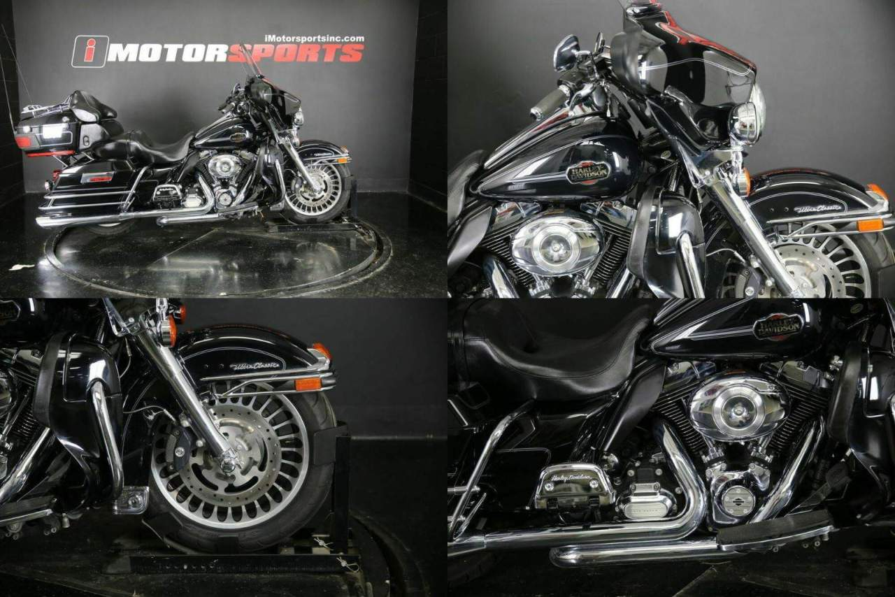 2013 Harley-Davidson FLHTCU - Electra Glide Ultra Classic Black used for sale