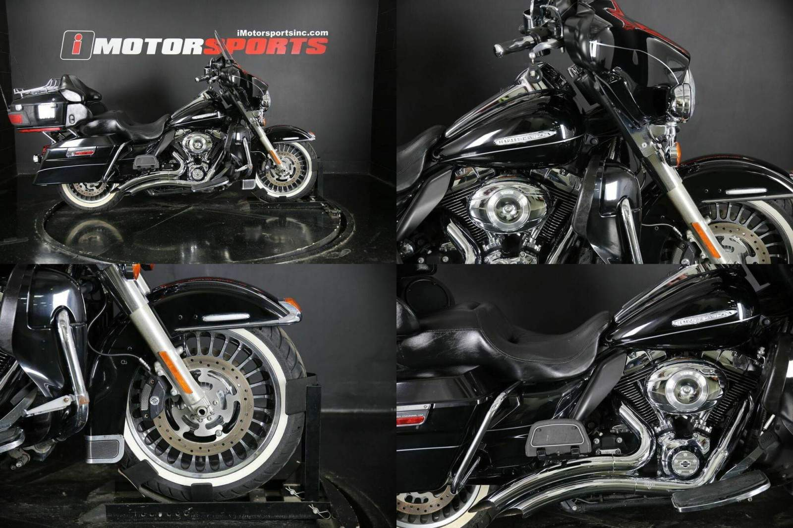 2013 Harley-Davidson FLHTK - Electra Glide Ultra Limited Black used for sale