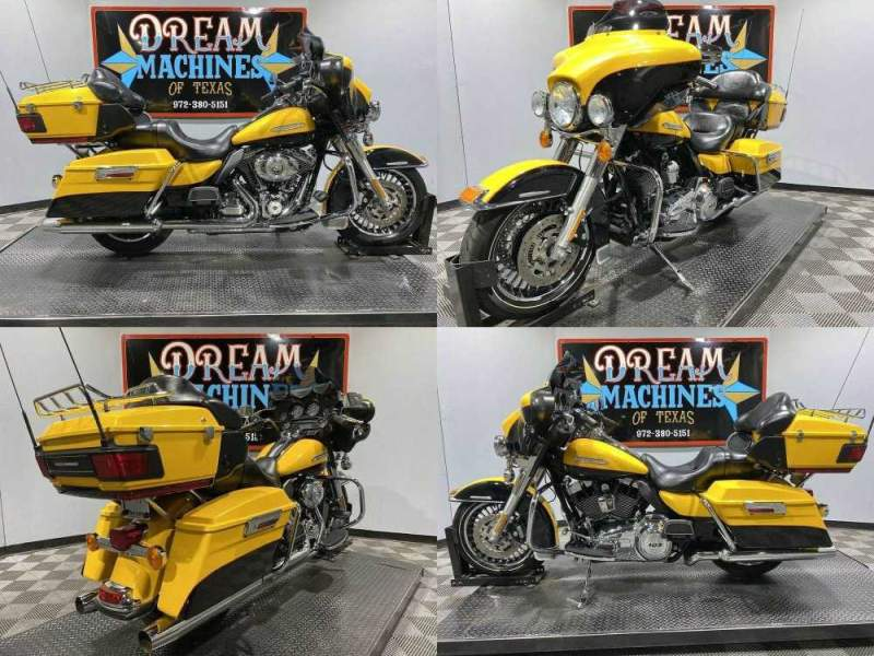 2013 Harley-Davidson FLHTK - Ultra Limited Yellow used for sale