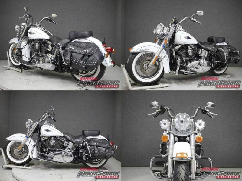 2013 Harley-Davidson Softail WHITE HOT PEARL used for sale craigslist
