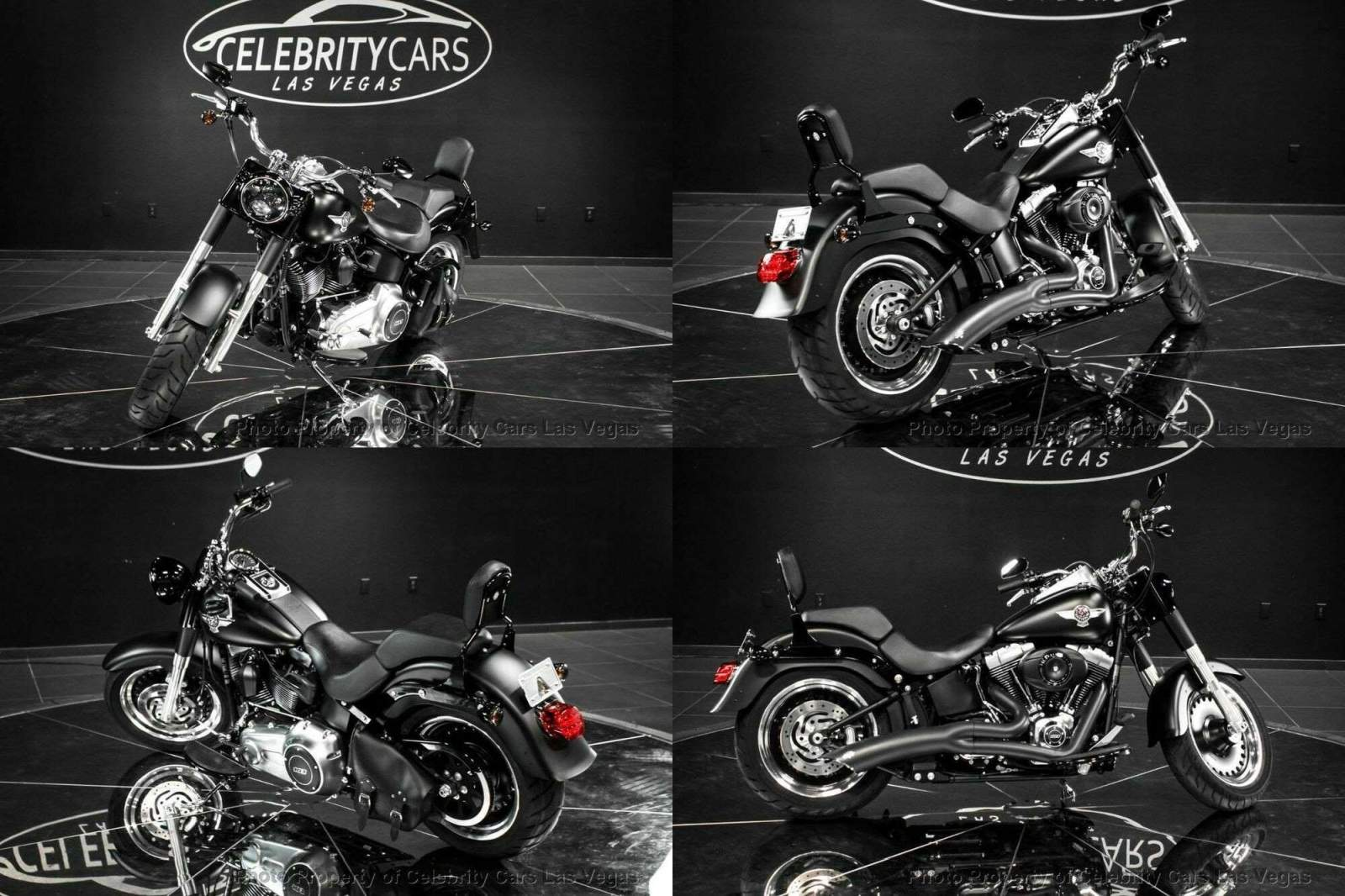 2013 Harley-Davidson Softail Softail Fat Boy Black used for sale