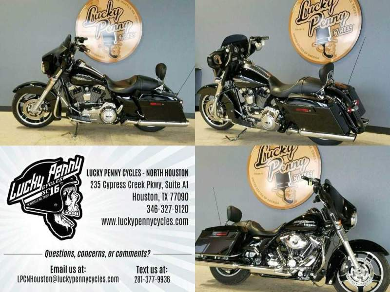 2013 Harley-Davidson Street Glide Base FLHX Black used for sale craigslist