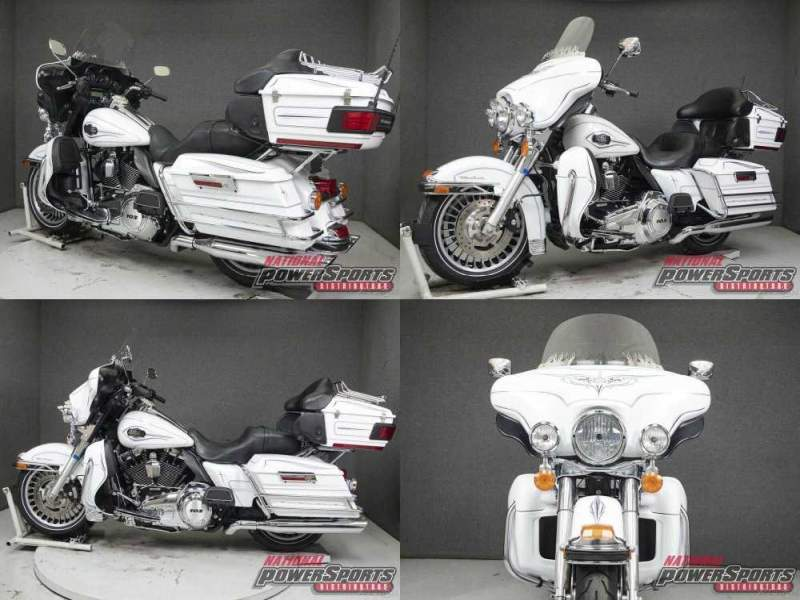 2013 Harley-Davidson Touring WHITE HOT PEARL used for sale