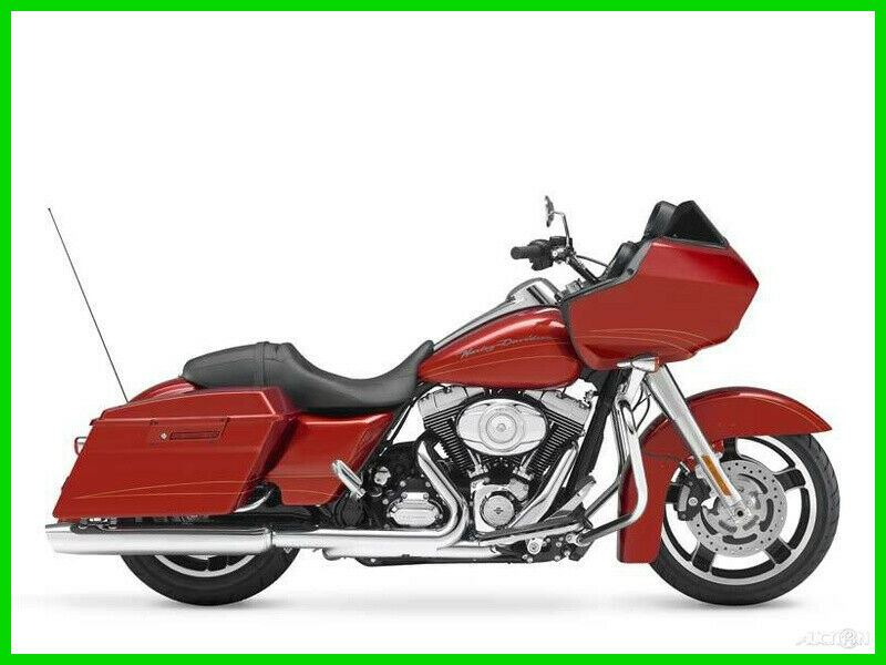 2013 Harley-Davidson Touring Road Glide Custom Candy Orange used for sale