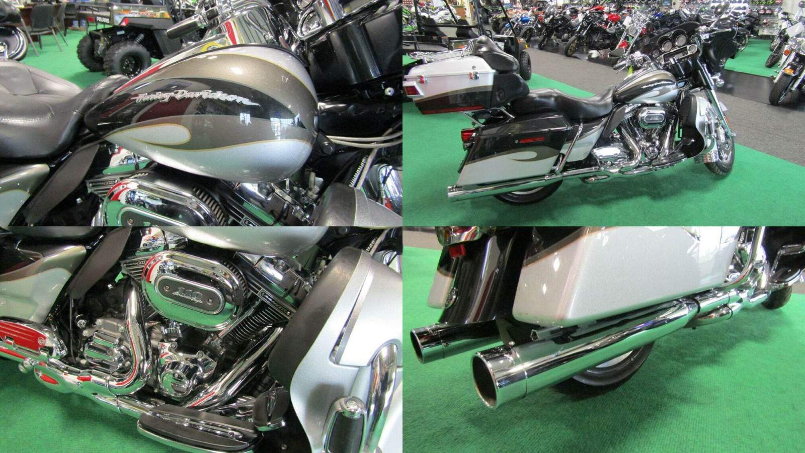 2013 Harley-Davidson Touring CVO ULTRA CLASSIC EG Silver Black used for sale craigslist