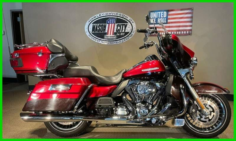 2013 Harley-Davidson Touring Electra Glide® Ultra Limited Ember Red & Merlot used for sale