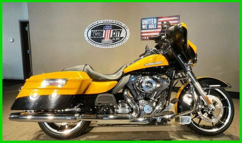 2013 Harley-Davidson Touring Electra Glide® Ultra Limited Chrome Yellow Pearl & Vivid Black used for sale