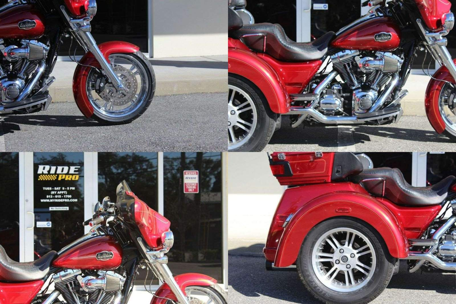 2013 Harley-Davidson Trike Tri Glide™ Ultra Classic® Ember Red Sunglo used for sale