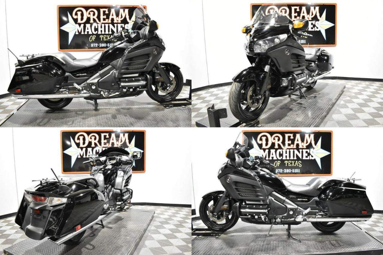 2013 Honda Gold Wing F6B - GL1800B Black used for sale