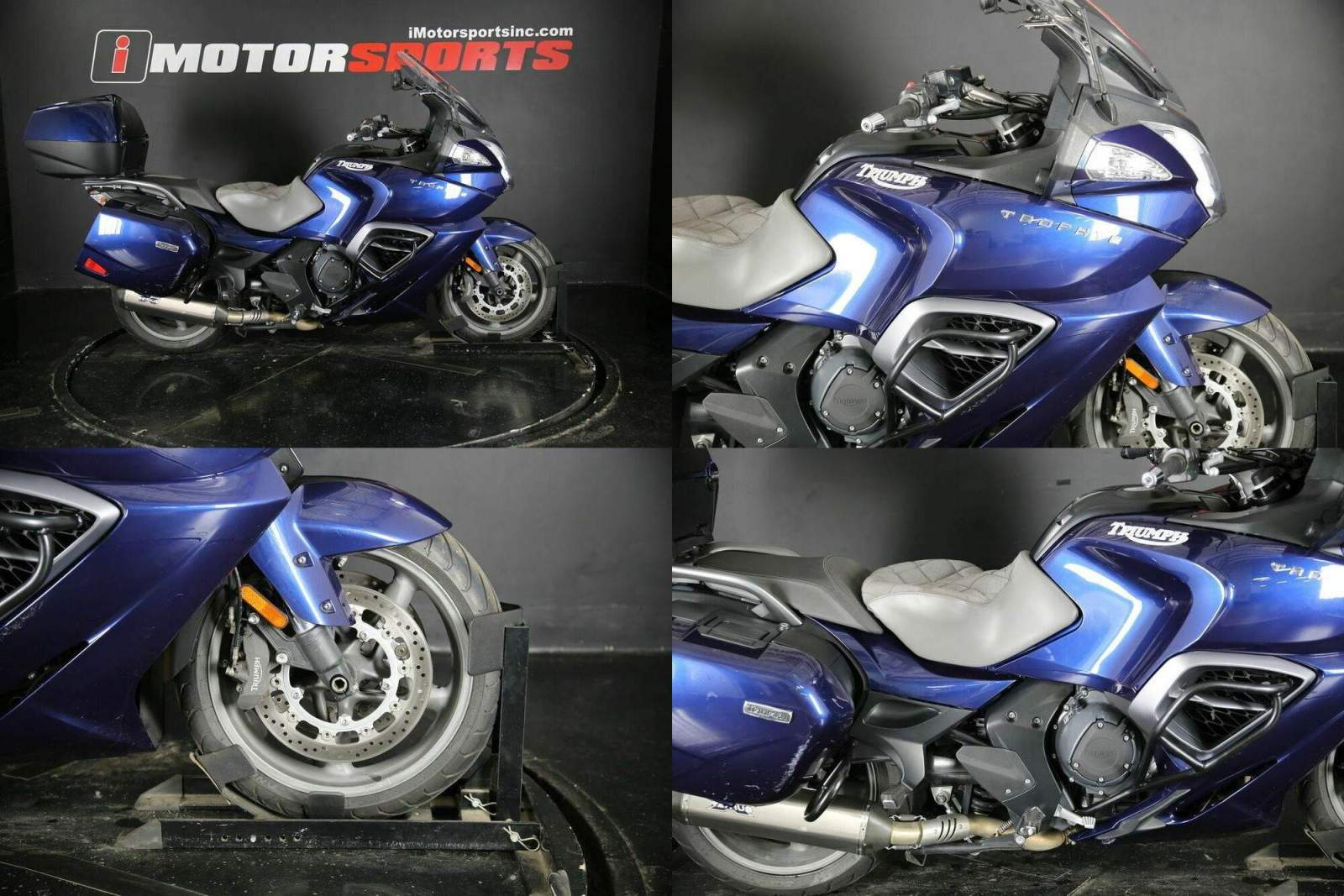 2013 Triumph Trophy Blue used for sale