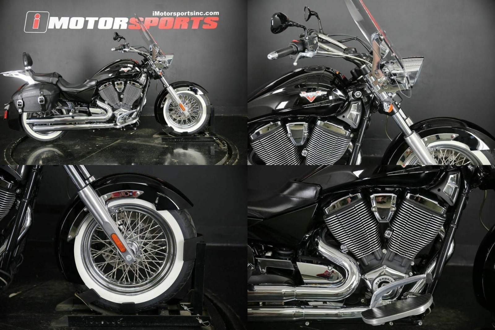 2013 Victory Boardwalk Gloss Black -- used for sale
