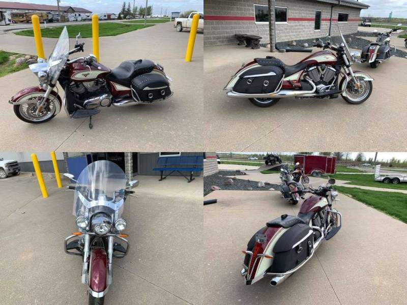 2013 Victory Cross Roads® Classic Burgundy used for sale