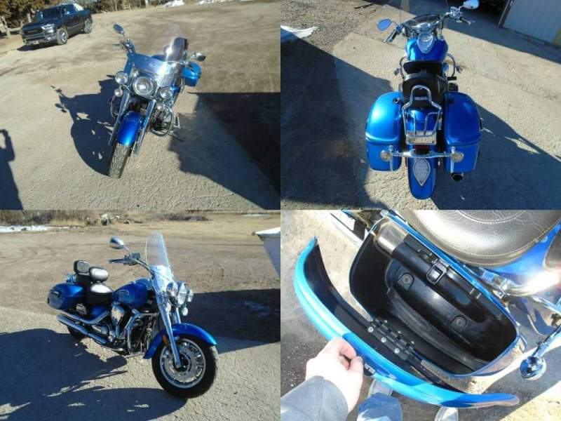 2013 Yamaha Road Star Blue used for sale craigslist