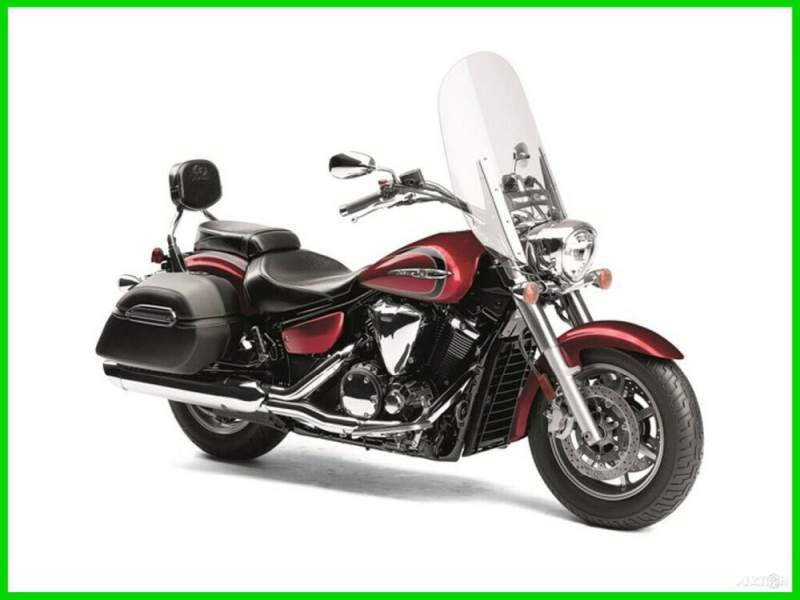 2013 Yamaha V Star Tourer Red used for sale