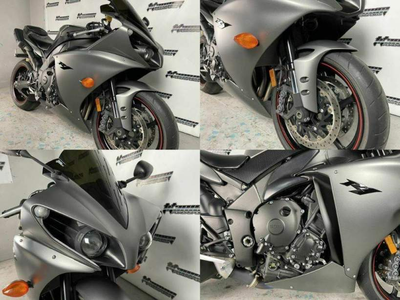 2013 Yamaha YZF-R Gray used for sale near me