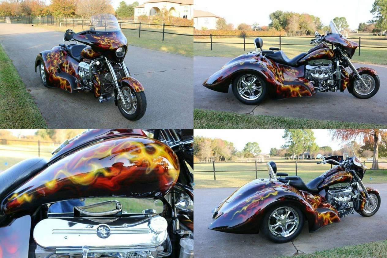2014 Boss Hoss Gangsta Trike 6.2 LS   for sale craigslist