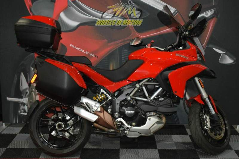 2014 Ducati Multistrada 1200 S Touring Red used for sale craigslist
