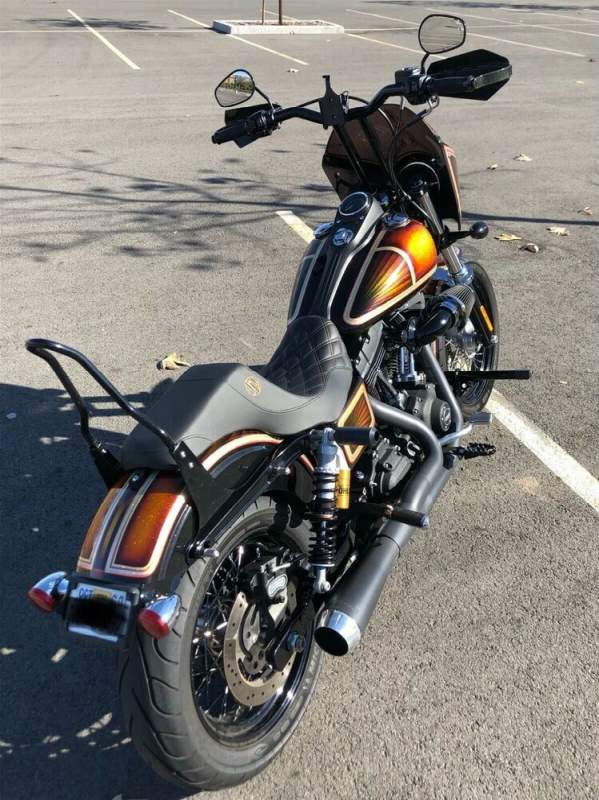 2014 Harley-Davidson Dyna Custom Rootbeer Flake used for sale craigslist