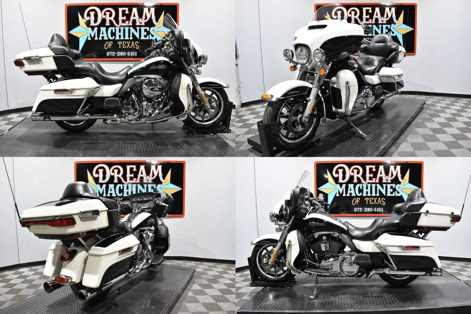 2014 Harley-Davidson FLHTCU - Electra Glide Ultra Classic White used for sale craigslist