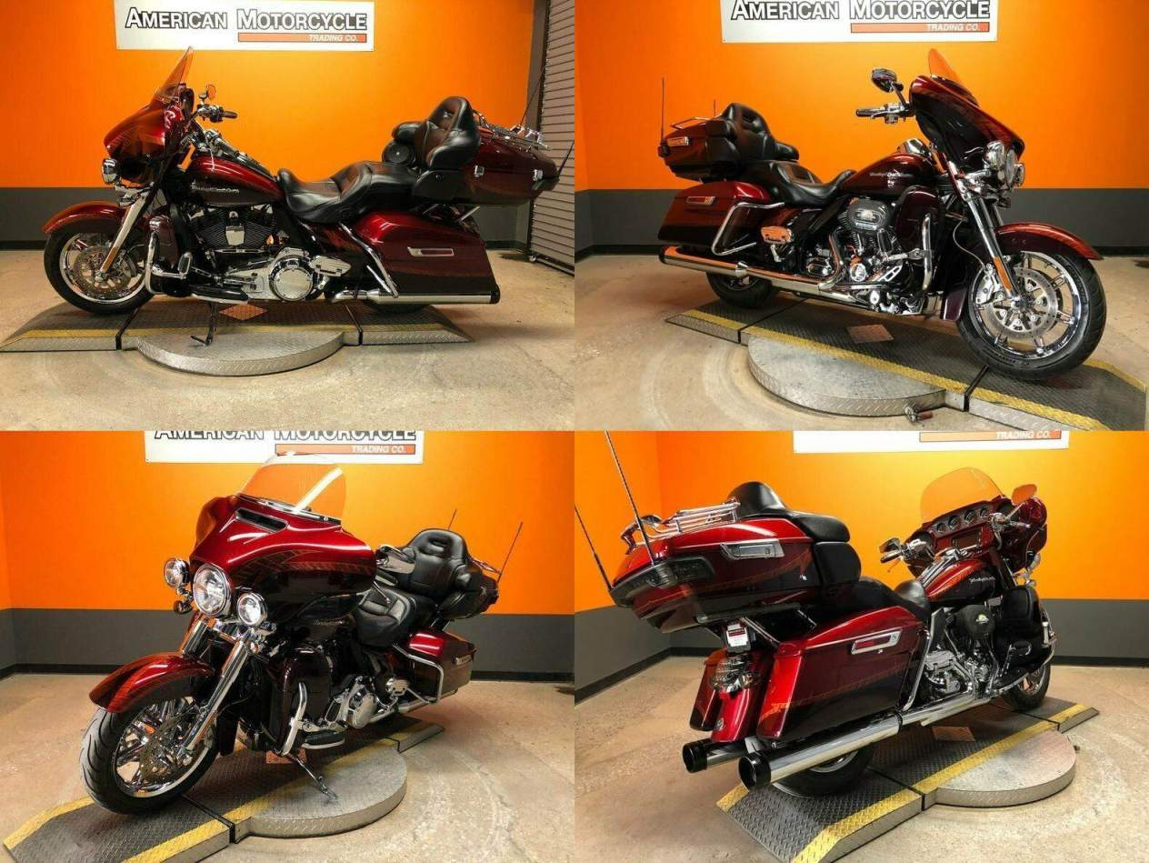 2014 Harley-Davidson Touring Red used for sale craigslist