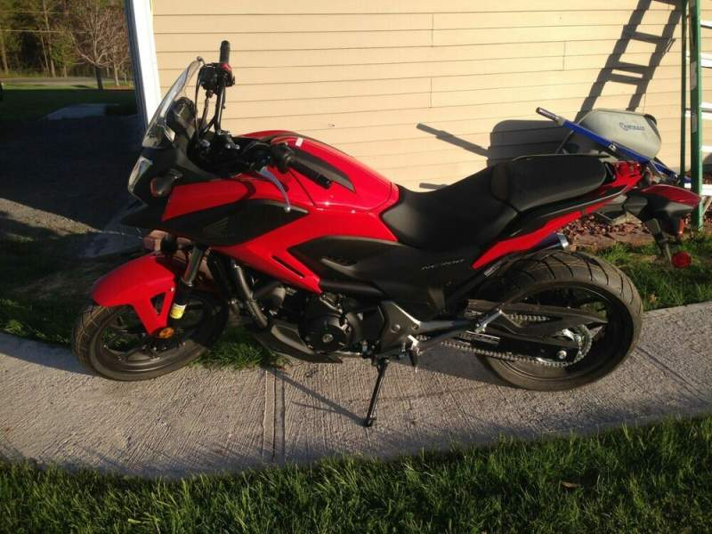 2014 Honda Honda NC700X Red used for sale near me