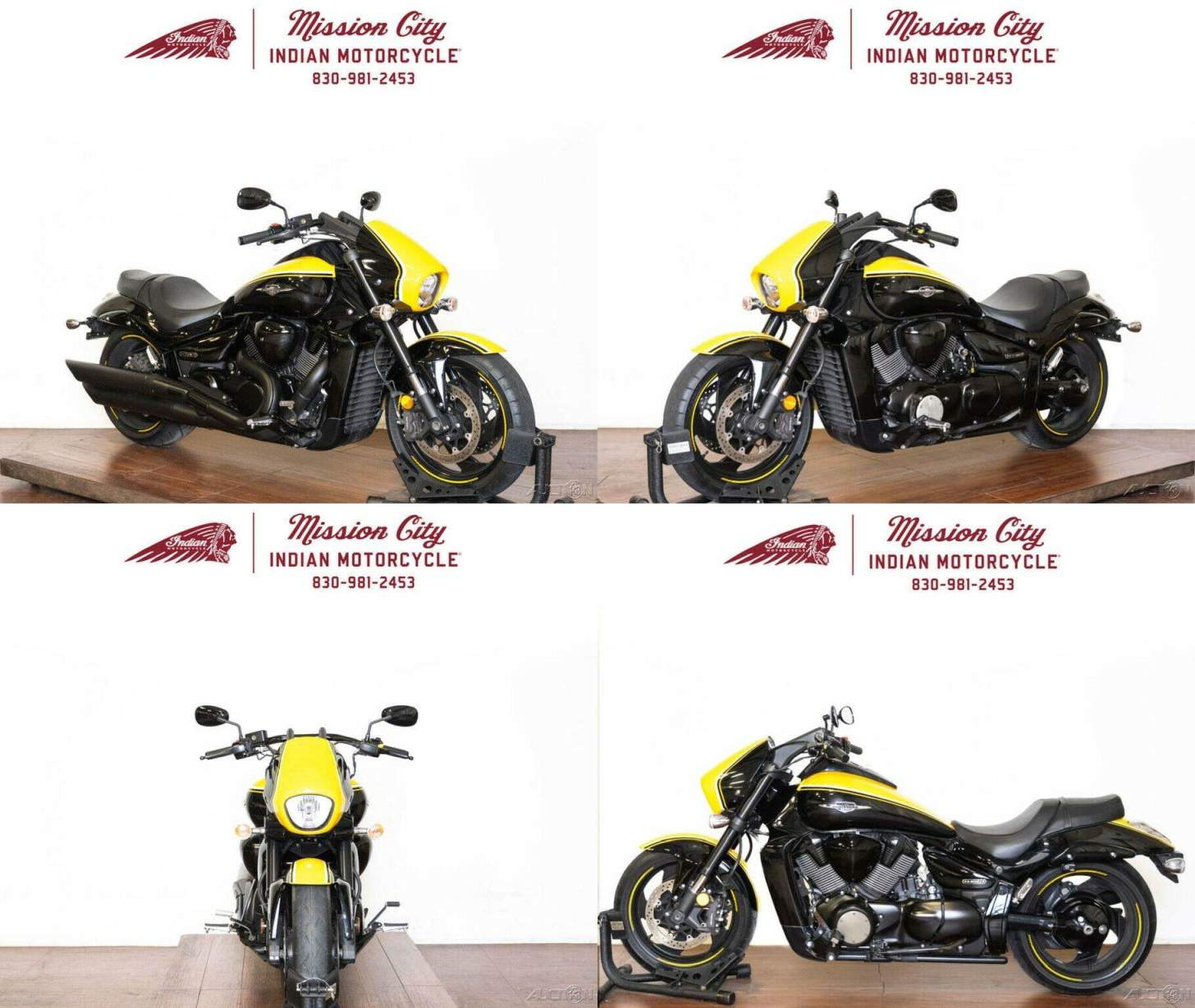 2014 Suzuki Boulevard M109R B.O.S.S. Marble Daytona Yellow - Glass Sparkle Black used for sale craigslist