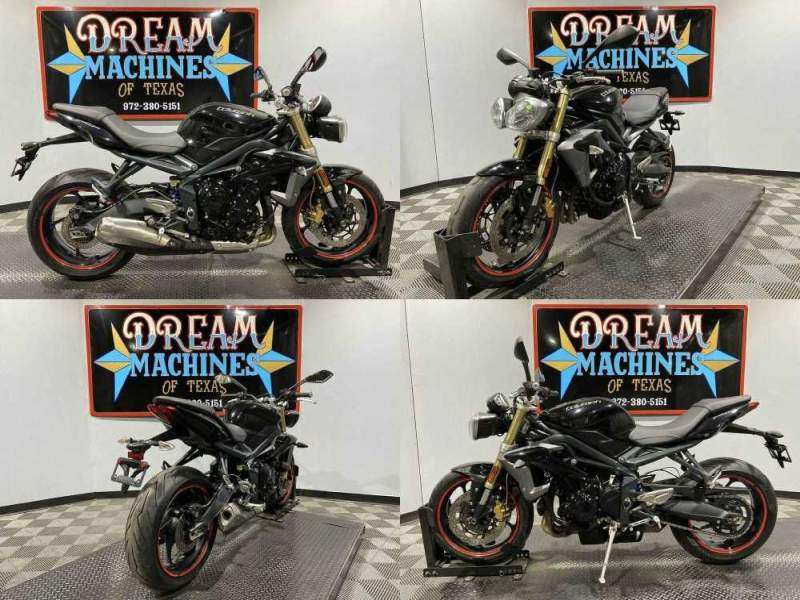 2014 Triumph Speed Triple 675 ABS Black used for sale