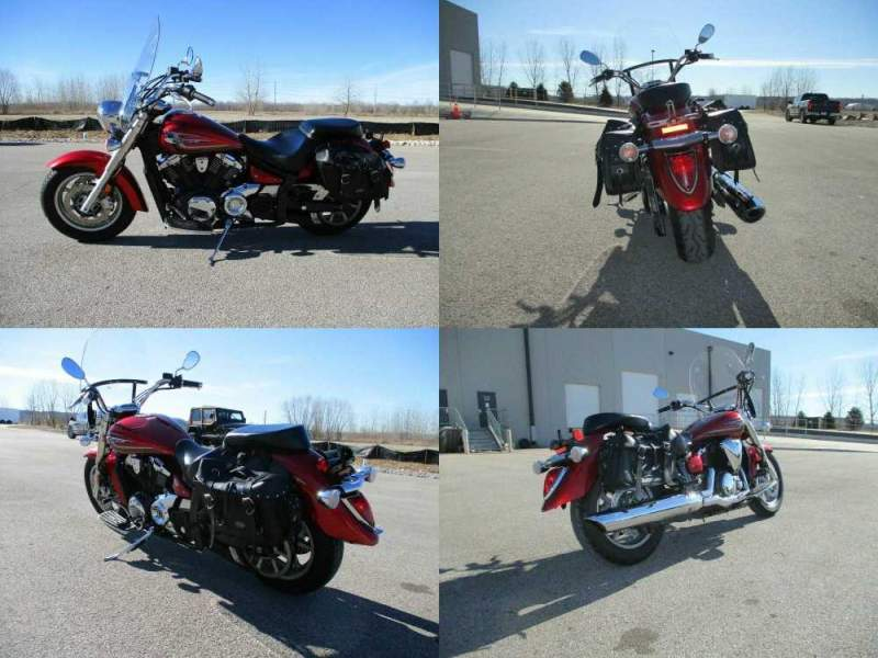 2014 Yamaha V Star Red used for sale
