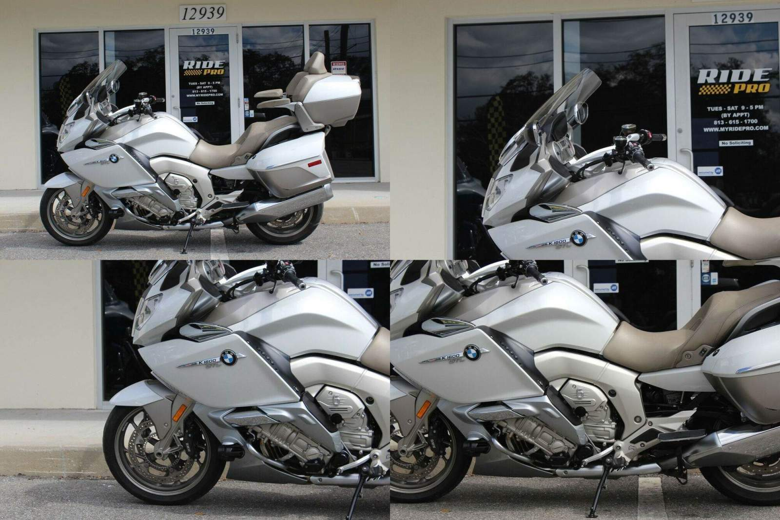 2015 BMW K-Series 1600 GTL Exclusive Creme used for sale craigslist