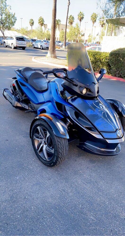 2015 Can-Am Can am spyder Blue used for sale near me