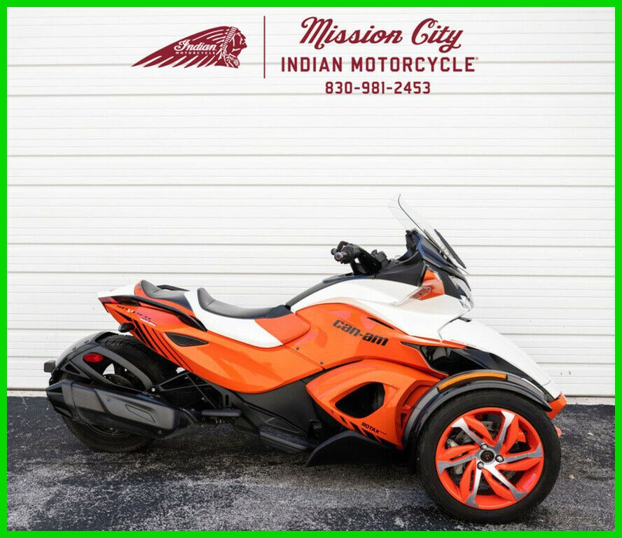 2015 Can-Am Spyder ST-S Special Series 5 Speed Semi-Automatic Can-Am Red / Pearl White used for sale near me
