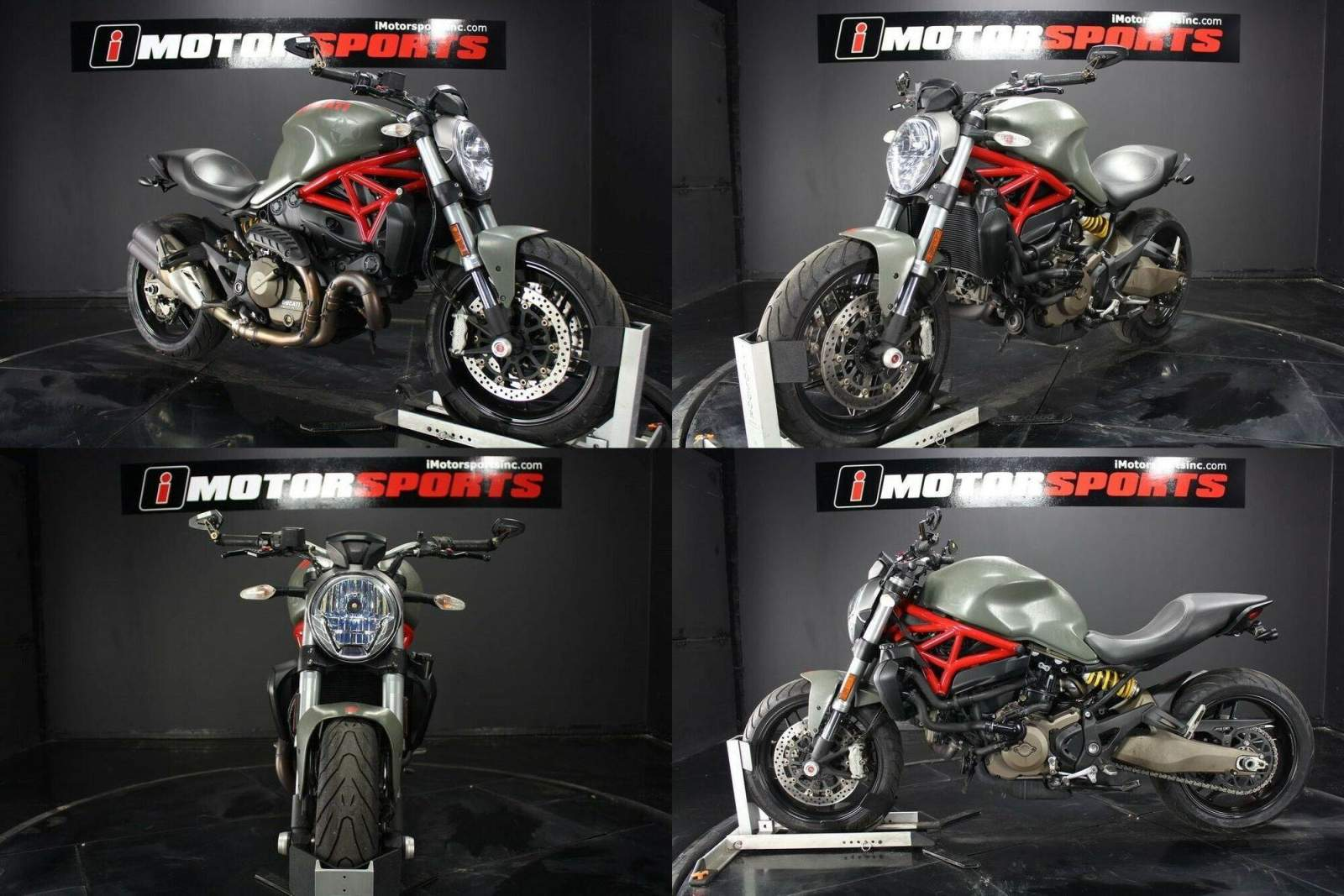 2015 Ducati Monster 821 Red Red used for sale craigslist