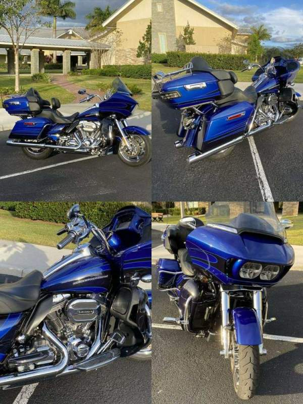 2015 Harley-Davidson CVO Road Glide Ultra Limited Blue used for sale near me