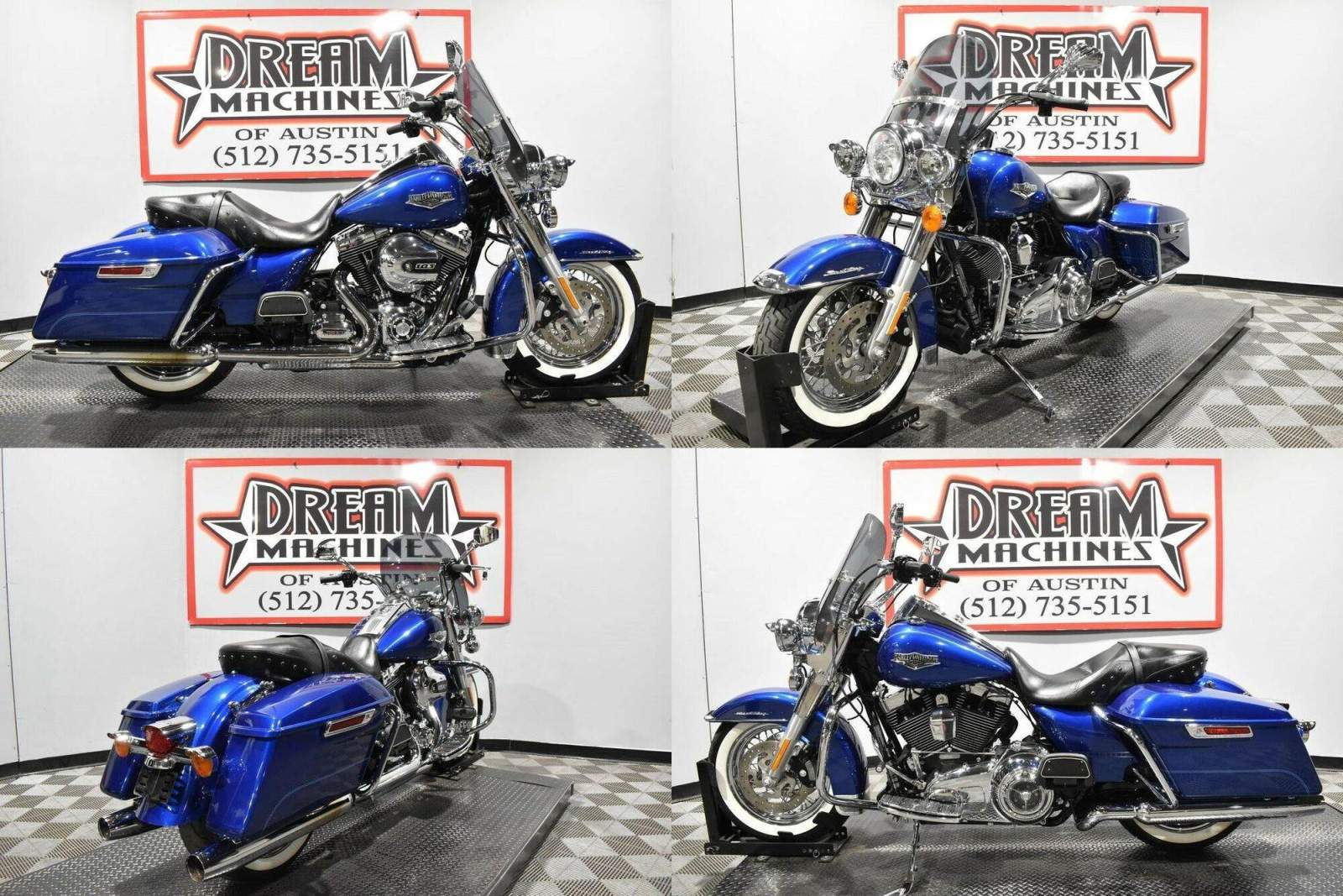 2015 Harley-Davidson FLHR - Road King Blue used for sale near me