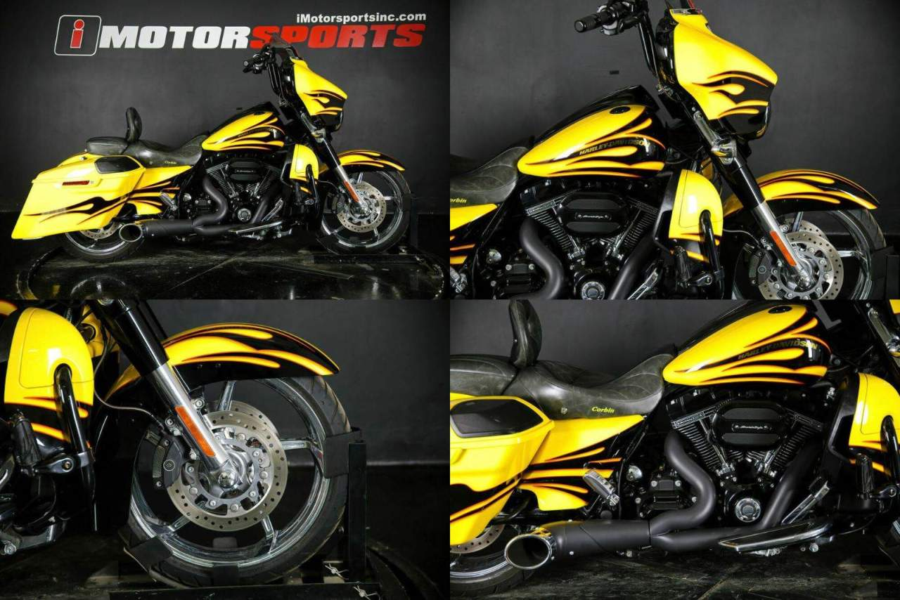 2015 Harley-Davidson FLHXSE - CVO Street Glide Yellow used for sale near me