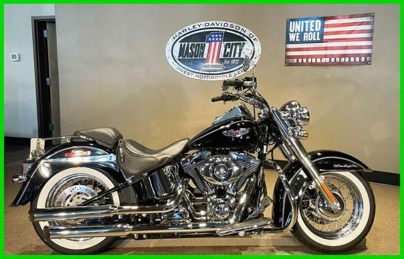 2015 Harley-Davidson Softail Softail® Deluxe Vivid Black used for sale