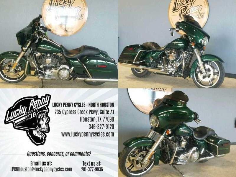 2015 Harley-Davidson Street Glide Special FLHXS Green used for sale
