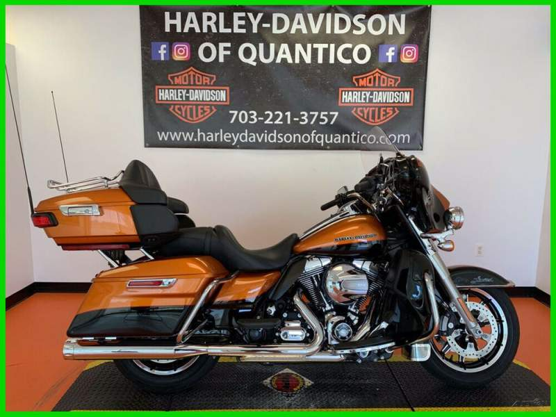 2015 Harley-Davidson Touring Amber Whiskey / Vivid Black used for sale