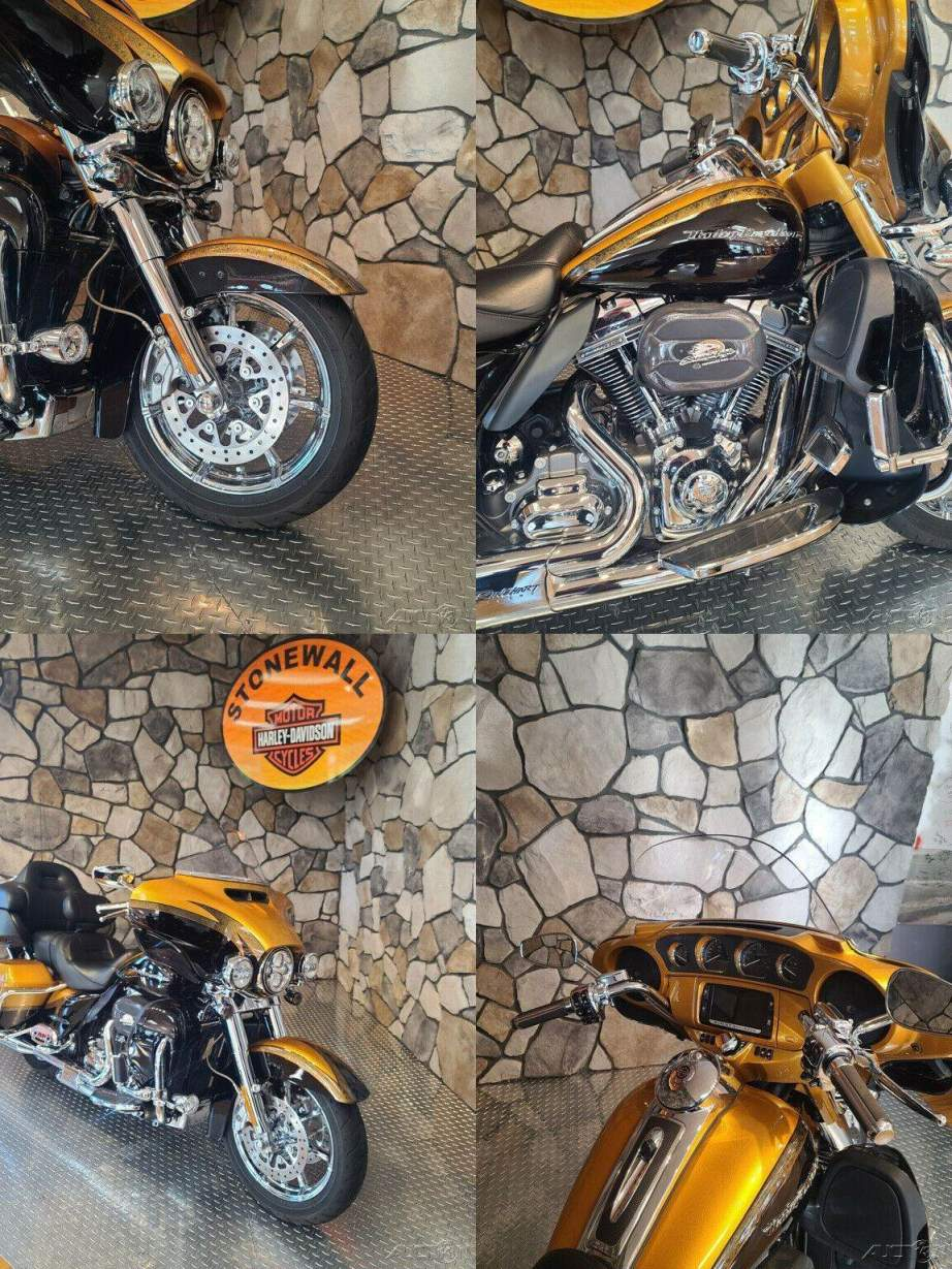 2015 Harley-Davidson Touring CVO Limited Gold Rush / Carbon Dust used for sale near me